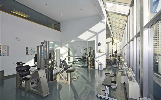 110 Bloor St West Toronto Condos Yorkville Gym