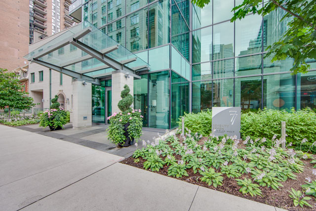77 Charles St West Toronto Entrance Yorkville Luxury Condos
