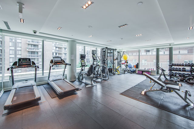77 Charles St West Toronto Yorkville Luxury Condos Gym Victoria Boscariol Chestnut Park Real Estate