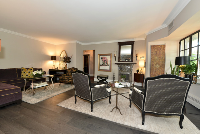 21 Dale Ave Suite 732 Rosedale Toronto 3 Bedroom Condos Co-ops Living Room